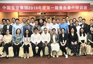 """我司员工参加""""中国宝安集团2018年度第一期青年骨干人才专项培训"""""""